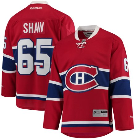 Andrew Shaw Montreal Canadiens Reebok Home Premier Player Jersey - Red