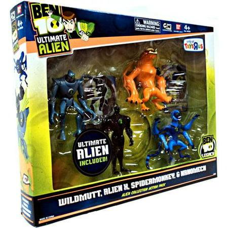 Ben 10 Ultimate Alien Alien Collection Action Pack #2 Action Figure