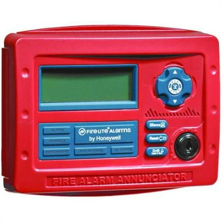 Fire-Lite Alarms Honeywell ANN80W Ann80 Annunciator White - Fire Alarm Annunciator Panel