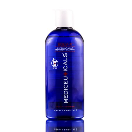 Treatment Oily Scalp - Therapro Mediceuticals Solv-X Oily Scalp & Hair Treatment Shampoo - Size : 8.45 oz