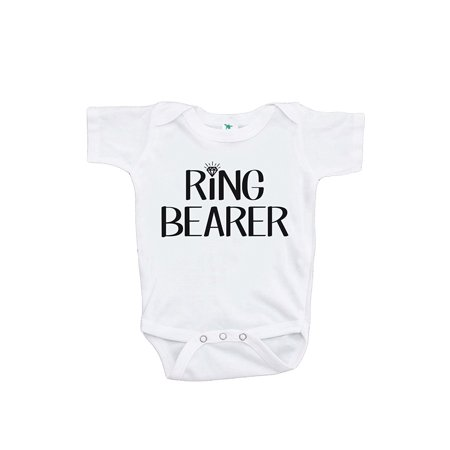 Custom Party Shop Baby Boy's Ring Bearer Wedding Onepiece - 12-18 Month Onepiece - Custom Favors