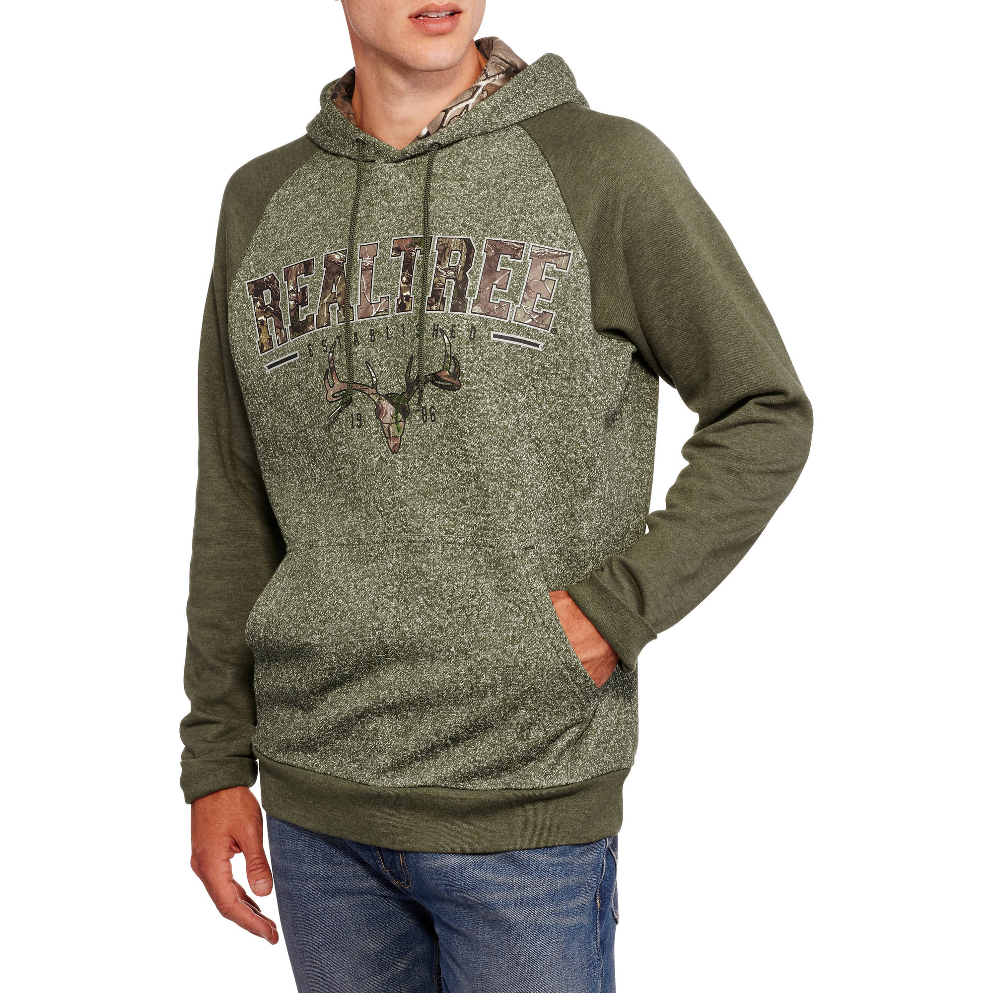 Realtree Big Men's Graphic Fleece, 2XL