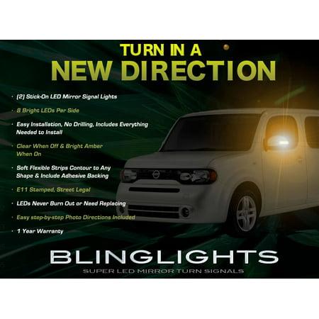Nissan Cube LED Side Mirrors Turn Signal Light Lamp Kit
