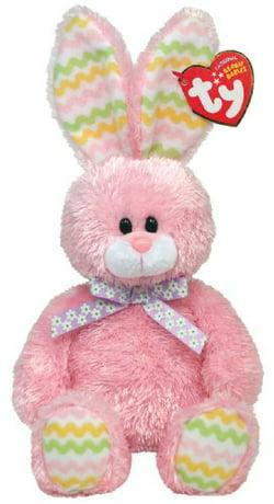 Ty Hoppity Pink Bunny Beanie Baby 604e713e4f8