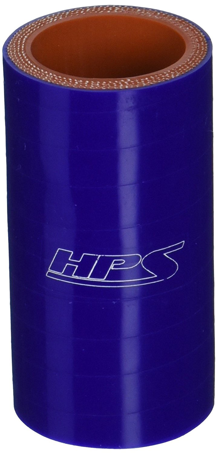 HPS Silicone Hoses HTSC-275-BLUE Silicone High Temperature 4-ply Reinforced Straight Coupler Hose 2-3//4 ID 75 PSI Maximum Pressure 3 Length Blue