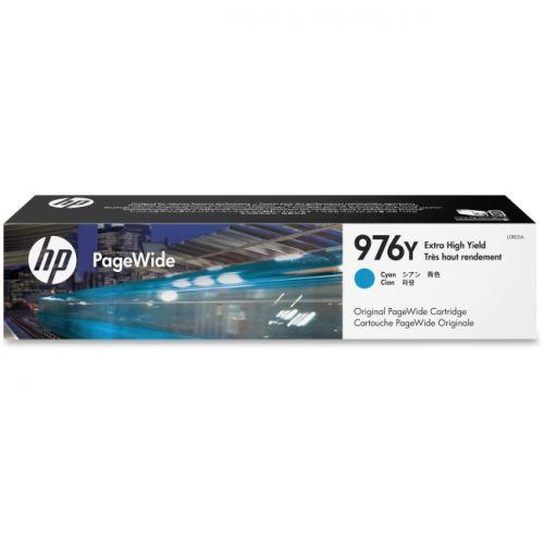 HP 976Y CYAN ORIGINAL PAGEWIDE CARTRIDGE - image 1 of 1
