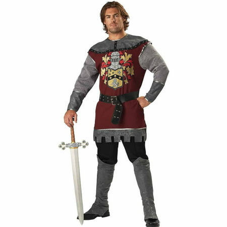 Noble Knight Adult Halloween Costume](Knight Costume Mens)