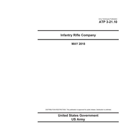 Army Techniques Publication Atp 3-21.10 Infantry Rifle Company May 2018 (Mayo Company)