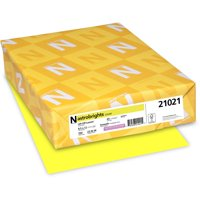 """Astrobrights Colored Cardstock, Lift-Off Lemon Yellow, 8.5"""" X 11"""", 250 Count"""