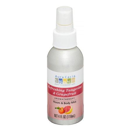 Aura Cacia Refreshing Tangerine & Grapefruit Aromatherapy Mist 4 oz.