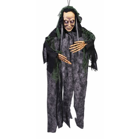 Vacu Hanging Scary Zombie Indoor Halloween  Prop Party Decorations