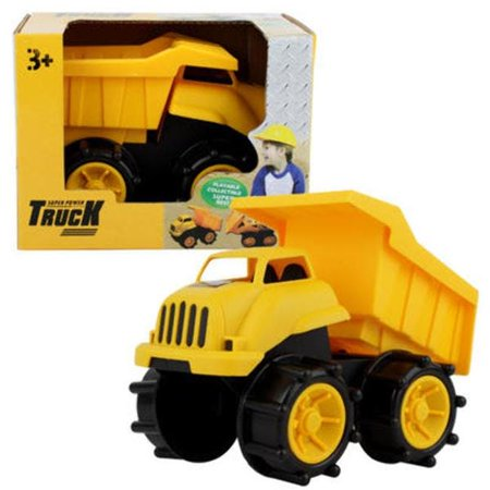 New 213453  Super Power Toy Construction Dump Truck - 5.2H (36-Pack) Action Cheap Wholesale Discount Bulk Toys Action Feminine Hygiene](Toys Wholesale)