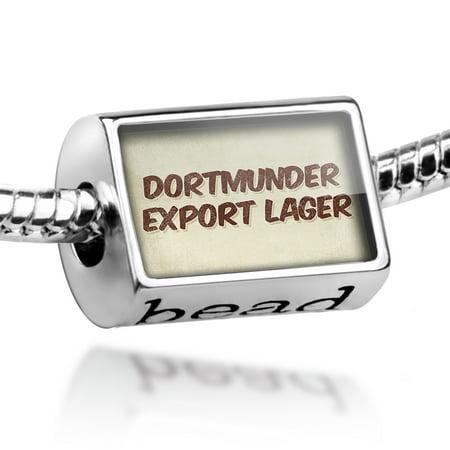 Bead Dortmunder Export Lager Beer, Vintage style Charm Fits All European (Export Lager Beer)