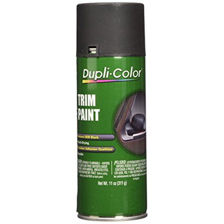 Dupli Color Tp70 Black Trim Paint Flat 11 Oz