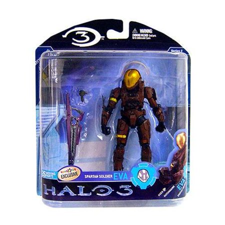 McFarlane Halo Series 2 Spartan Soldier EVA Action Figure [Brown]