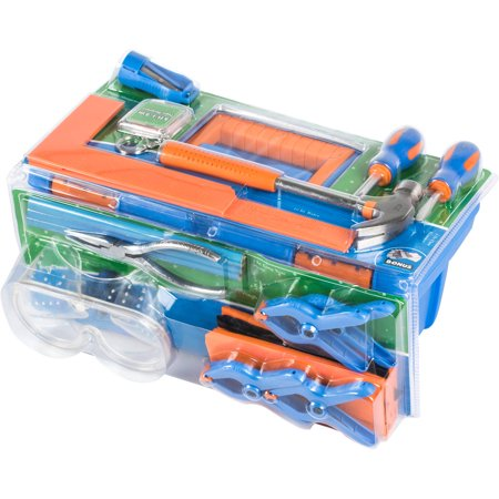 Create & Learn 18-Piece Tool Set with Toolbox 5+