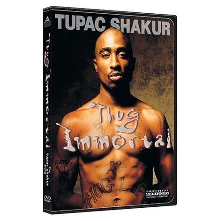 Thug Immortal: The Tupac Shakur Story (DVD) (Tupac Shakur The Rose That Grew From Concrete)
