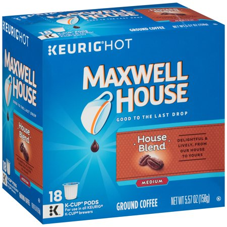 Maxwell House House Blend Coffee K-Cup ® Packs 18 ct Box