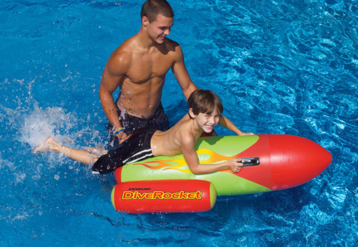 Dive Rocket Inflatable Swimming Pool Aerobic Toy by Swim Central