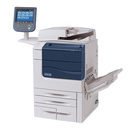 Refurbished Xerox Color 550 Digital Laser Production Printer - 50ppm, Print, Scan, Copy, Duplex, 2 Trays, Tandem Tray, Bypass Tray, Offset Catch Tray, Integrated Fiery Color Server ()