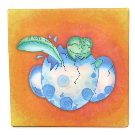 Childrens Sea Turtle Journey Growing Kids Collection Hatchling Canvas Print Wall Art