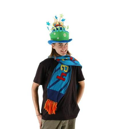 Party Celebration Green Cake Adult Costume Hat](Celebration Costumes)