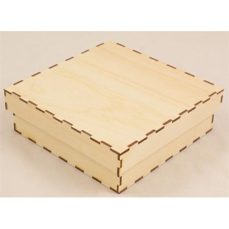 Shallow Square Drop Fit Wood -