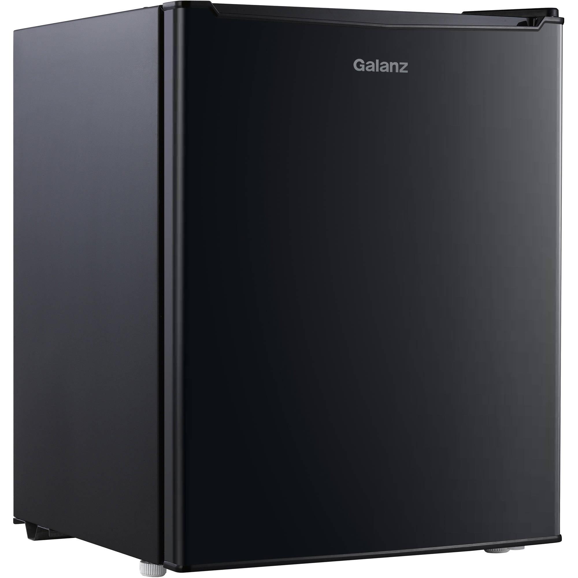 GALANZ 2.7 CU.FT. ONE DOOR REFRIGERATOR BLACK