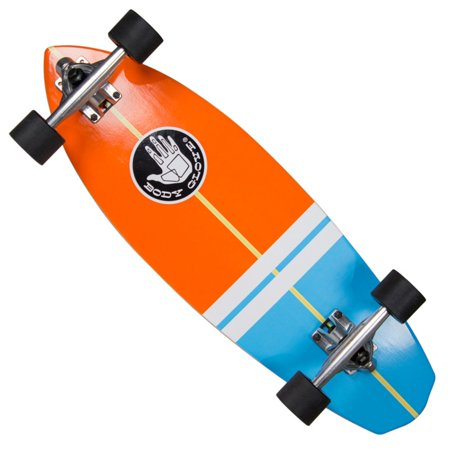 Body Glove Surf Slide 28 in. High Performance Longboard Cruiser (Best Longboard Surfing Videos)