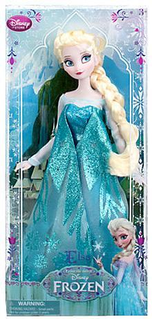 "Disney Frozen 2013 Classic Elsa Exclusive 12"" Doll by"
