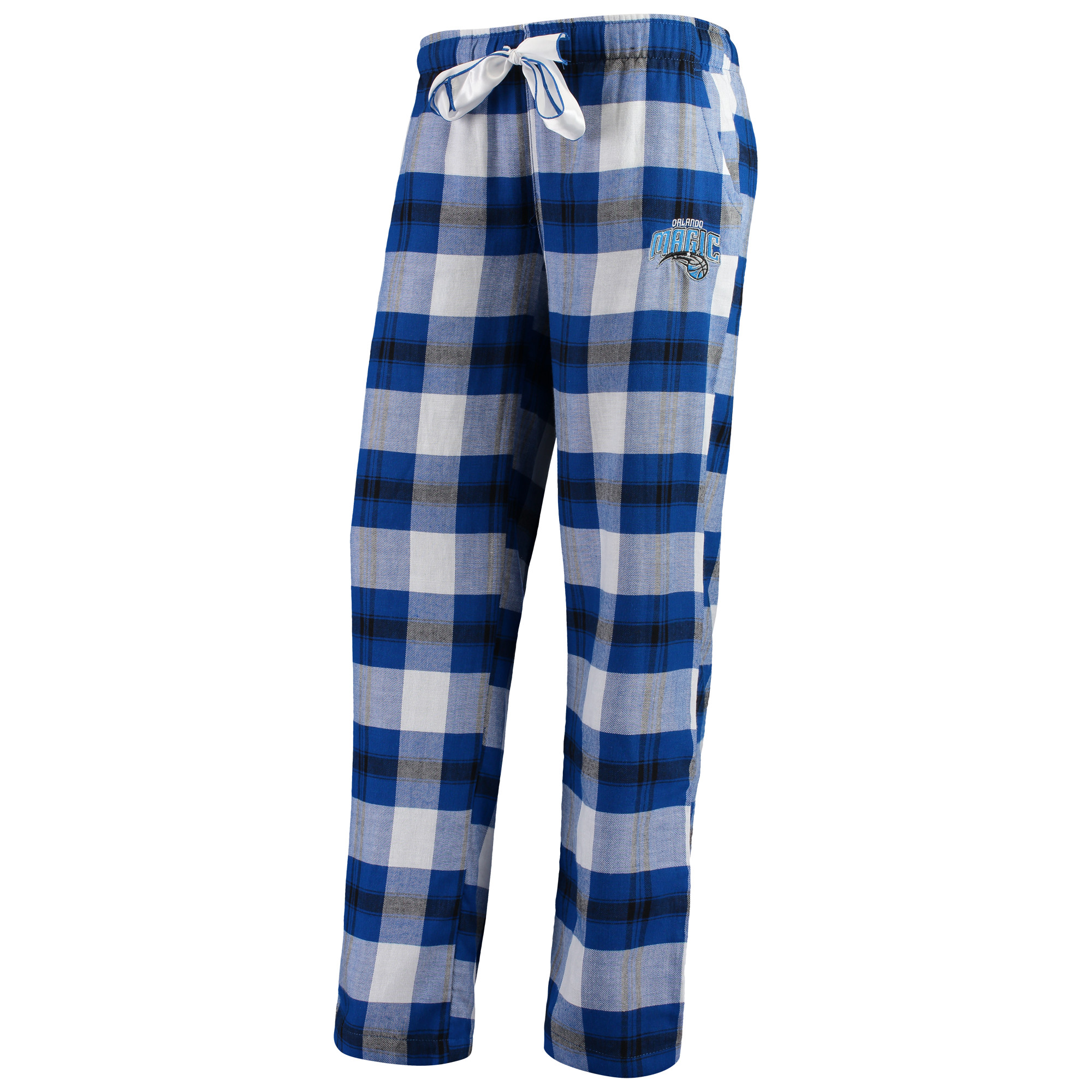 Orlando Magic Women's Flannel Pajamas Plaid PJ Bottoms