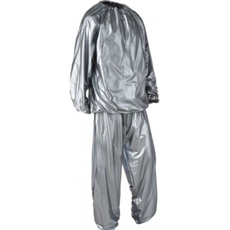 Fitness Sun 2pc Sauna Suit Fitness Aerobic Weight Loss Gym Outfit, Womens - Increase Metabolism (Salsa Outfits)