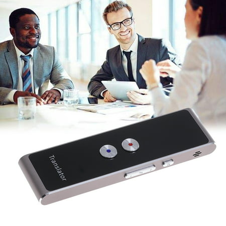 Portable Smart Voice Translator Two-Way Real Time Multi-Language Translation Photo Translator for Learning Travelling (Best Voice Translator App)