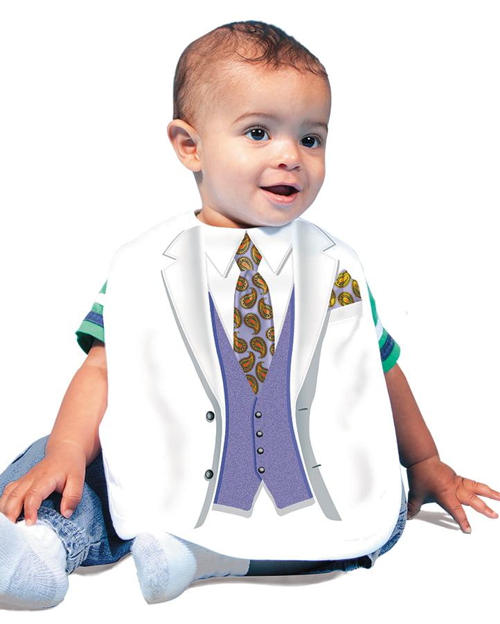 Jacket & Tie Purple Bib