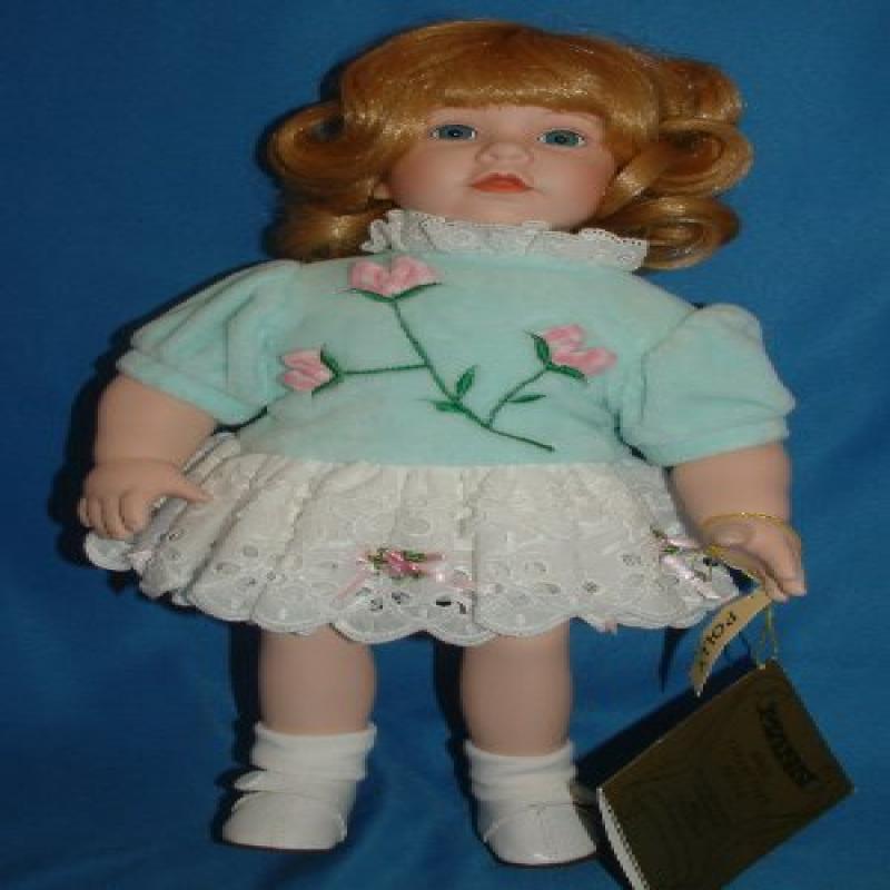 Seymour Mann Porcelain Doll -Polly