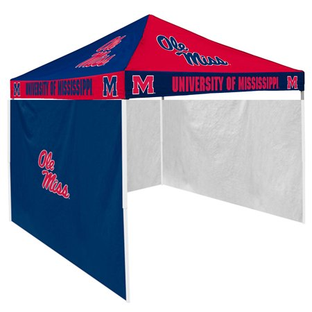 Mississippi Rebels NCAA 9' x 9' Checkerboard Color Pop-Up Tailgate Canopy Tent