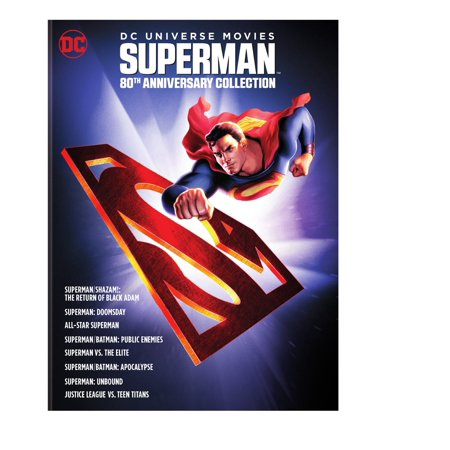 80th Anniversary Collection (DC Universe Movies Superman 80th Anniversary Collection (DVD) )