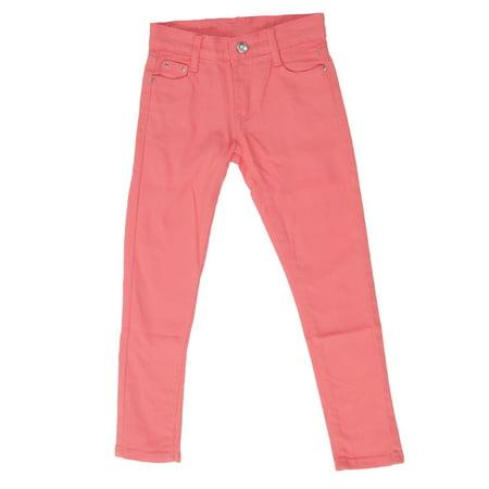 - JGP-COLOR - Girls' Colored Denim 5 Pockets Embellished Skinny jeans