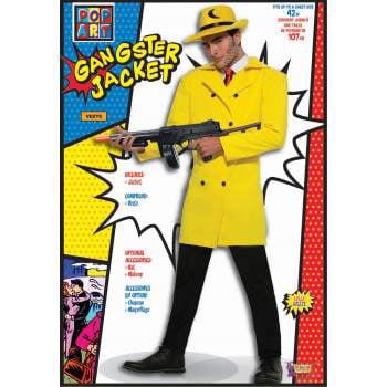 POP ART GANGSTER YELLOW JACKET (60s Gangster)