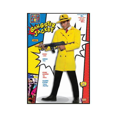 POP ART GANGSTER YELLOW JACKET