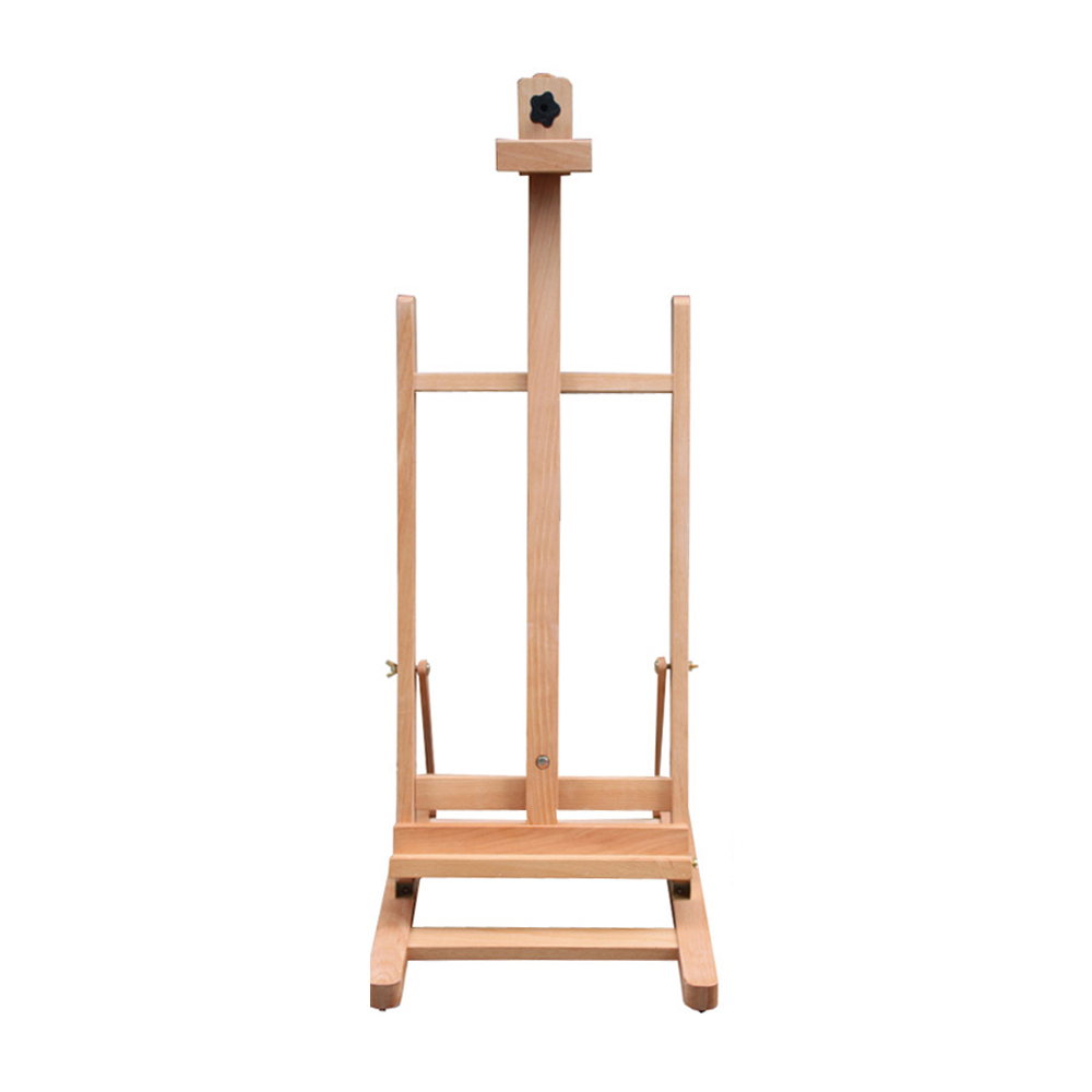 "Zimtown 42"" to 69"" Height Adjustable Easel Stand, Folding Portable Beechwood H Frame Deluxe Studio Easel, for Artist Drawing, for Studio Painting Display - image 3 of 9"