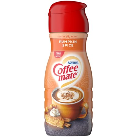 COFFEE MATE COFFEE HOUSE Pumpkin Spice Liquid Coffee Creamer 16 fl  oz   Bottle