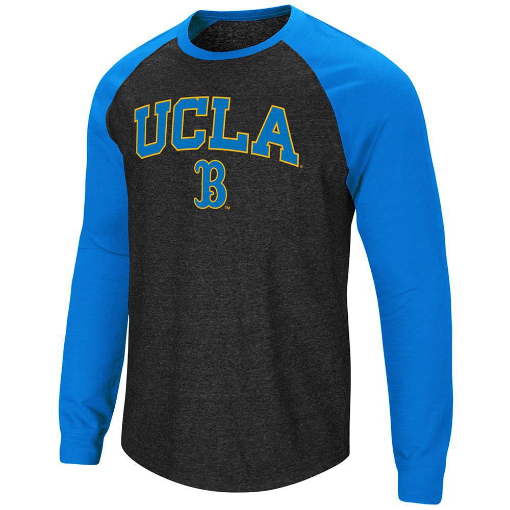 Mens UCLA Bruins Long Sleeve Raglan Tee Shirt - L