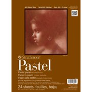 """9"""" x 12"""" Assorted Colors Glue Bound Pastel Pad"""