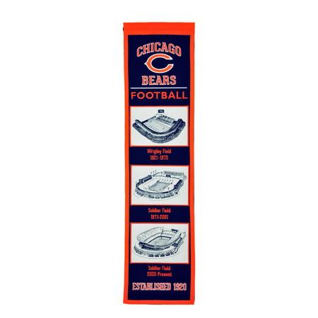 Winning Streak - NFL Evolution Banner, Chicago Bears Chicago Bears Nfl Eye