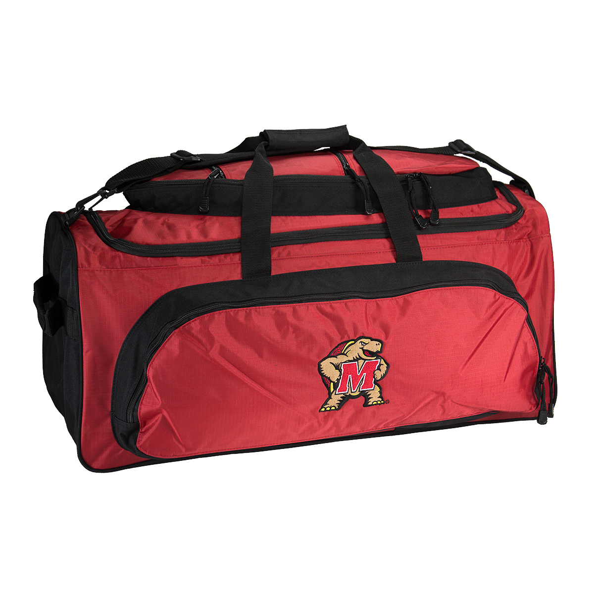NCAA Heavy Duty Collegiate Sport 27��� Large Duffel Tote Bag School College Duffle