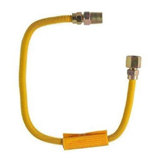 LDR Industries 509 1572SS Flexible Stainless Steel Gas Connector Tube 5//8 x 3//4 x 3//4 5//8 x 3//4 x 3//4