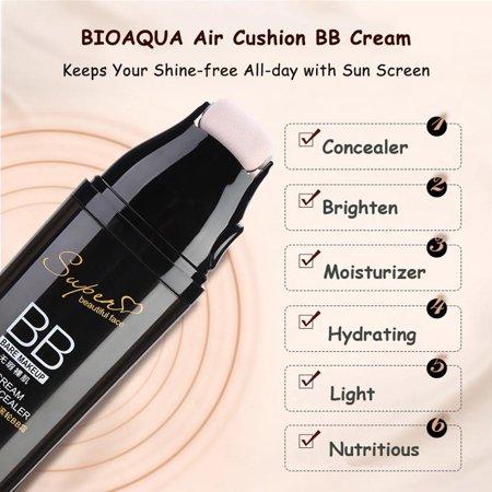 Eecoo Waterproof Concealer Bb Cream Bioaqua Scrolling Roller Air Cushion Bb Cream Waterproof Concealer Face Makeup Cosmetics