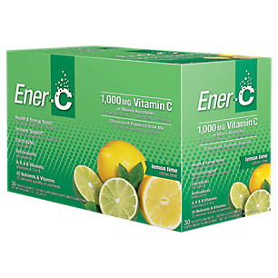 Ener-C Vitamin Drink Mix Lemon Lime 1000 mg 30 Packets by ENER-C