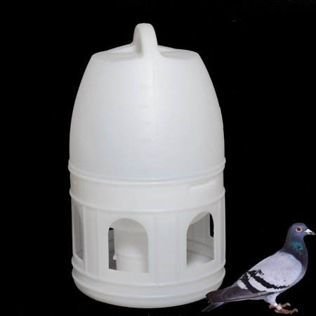 6L Bird Water Drinker Feeder  Pigeon Handle Plastic Pot Dispenser Container Pigeons Poultry Birds Supplies Tools